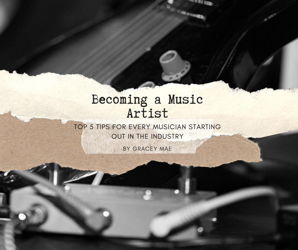 Becoming a music artist
