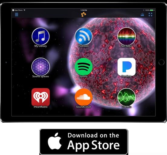 tunr ios app store free music visualizer