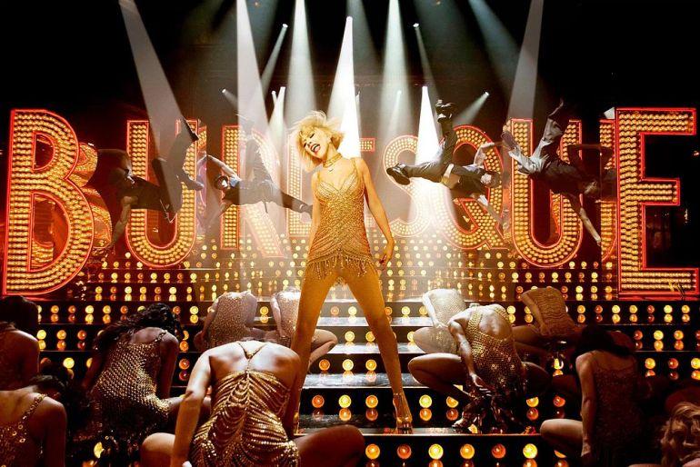 Movie poster Burlesque
