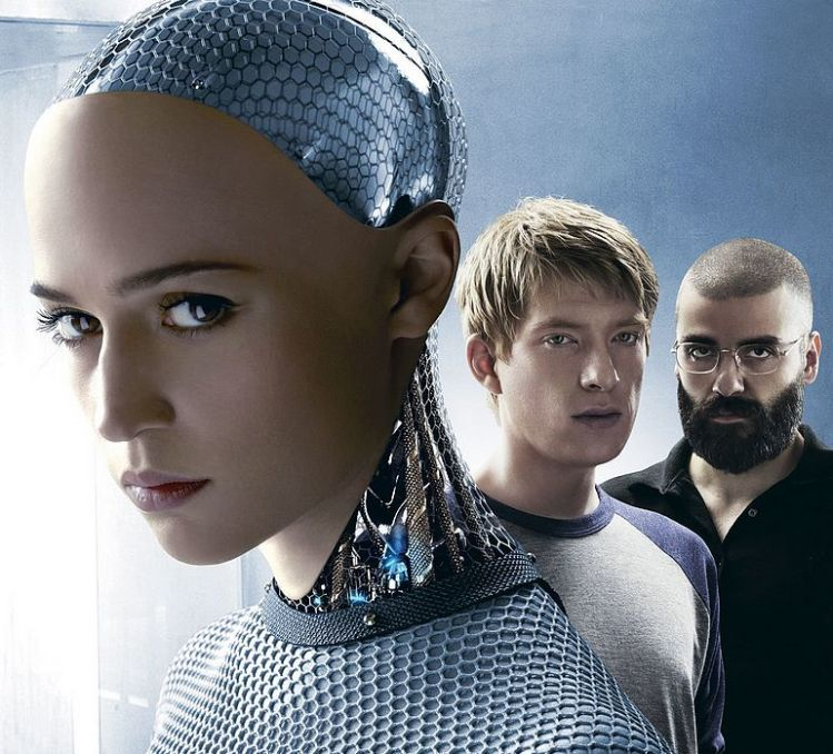 movie poster Ex Machina