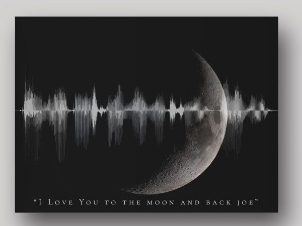 I love you to the moon and back soundwave