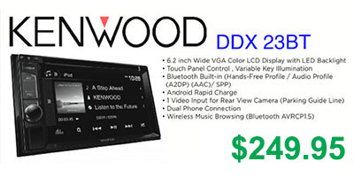 Kenwood in-dash DVD player DDX23BT $249.95 at Sounds Good To Me in Tempe, Arizona