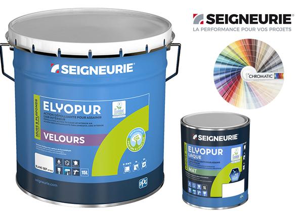 Source A Id Elyopur La Peinture Pour Des Espaces De Vie Sains By Seigneurie