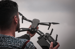 controlling drone
