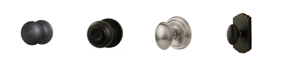 seven inexpensive home upgrades - door knobs