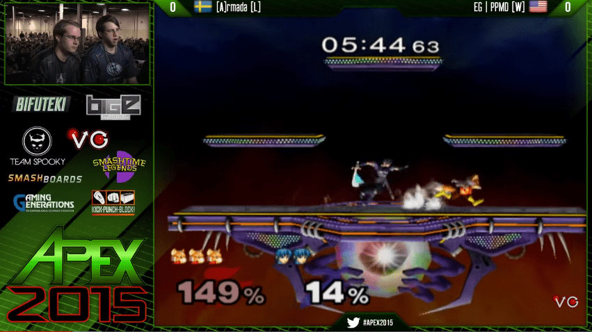 Image from Grand Finals between Armada and PPMD at Apex 2015