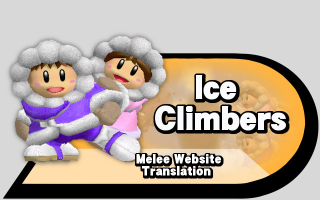 Translation IceClimbers Melee