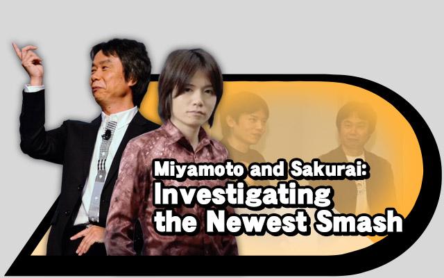 Miyamoto and Sakurai
