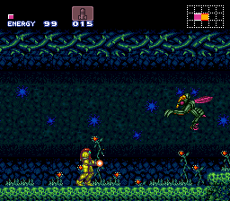 With no Metroid 64 releasing, Super Metroid was the latest game in the franchise.