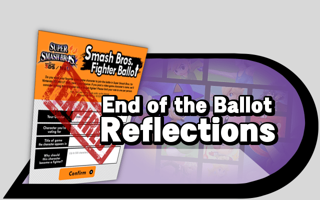 End of the ballot reflections