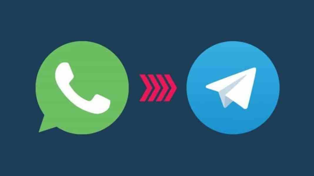 WhatsApp chat to Telegram