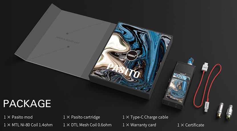 Smoant Pasito Starter Kit Features 02