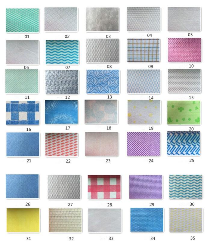 35 printing spunlace wipes