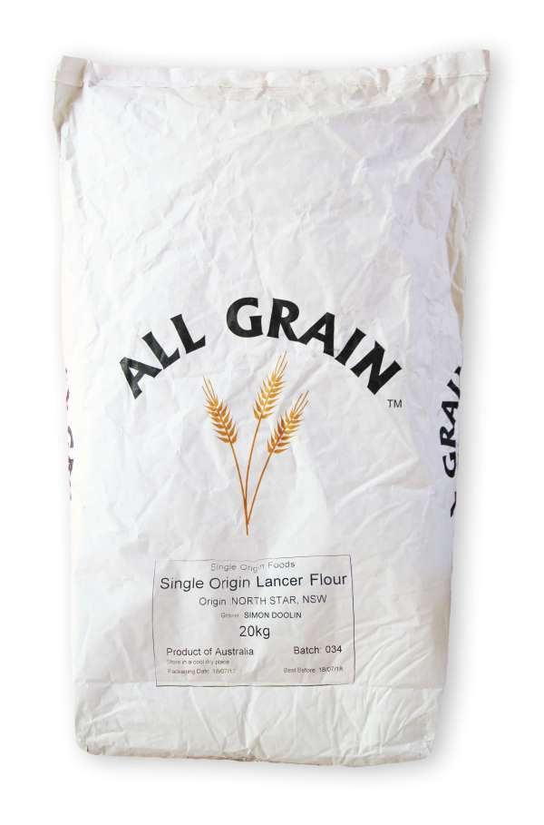 Lancer Single Origin Flour 20kg