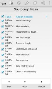 sourdough pizza alarms