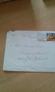 envelop van brief mamma