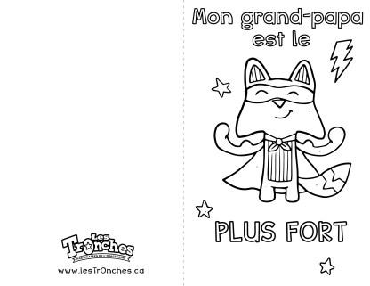 Raton-Fête de grand-papa