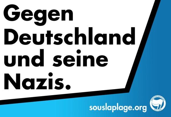 Gegen Deutschland und seine Nazis