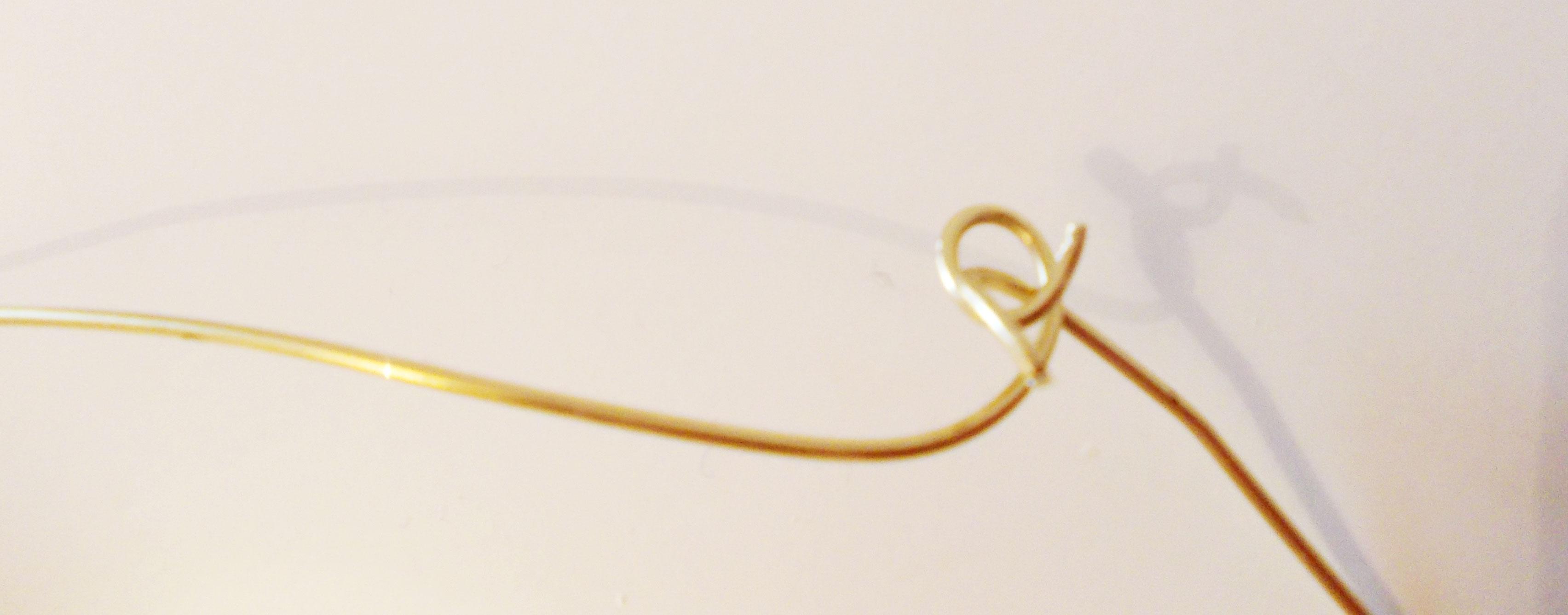 DIY Halskette aus Strumpfhose |