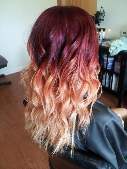 Ombre Hair Rot Blond