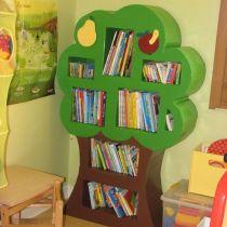 bibliotheque arbre carton