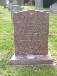 Headstone reference G44 Plan 4 - Bolland, Joan