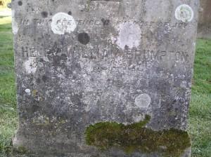 Headstone reference G10 Plan 4 - Brumpton, Henry William