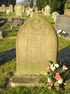 Headstone reference G57 Plan 4 - Deeprose, William David & Deeprose, Vera Stewart