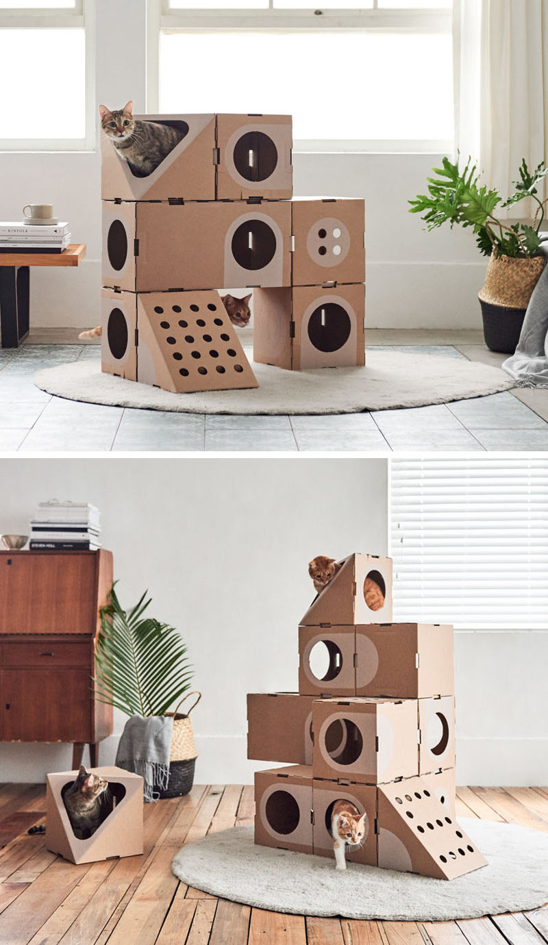 Muebles Modulares De Cart N Para Gatos A Cat Thing Southa # Muebles Modulares