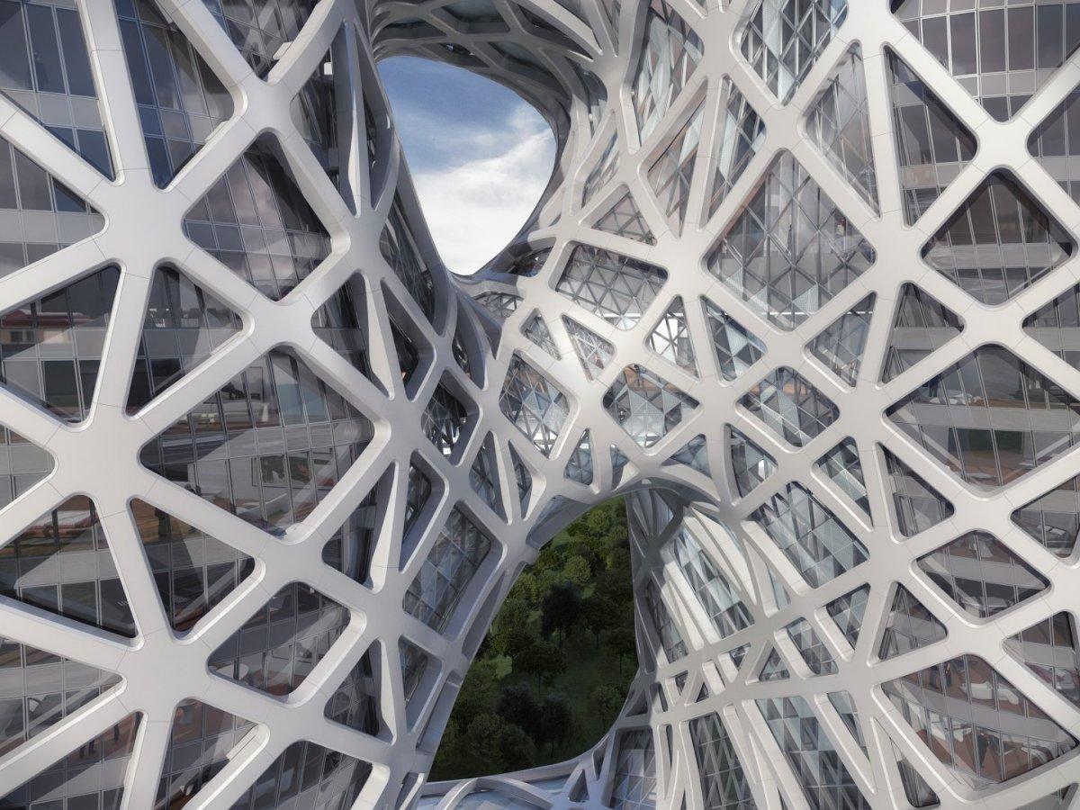 Morpheus Hotel en City of Dreams | Zaha Hadid Architects