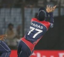 Nepali national cricket team's jersey sold for $1300, a record Paras Khadka claims