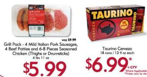 <p>Grill Pack and Tarurino 18 can case</p>