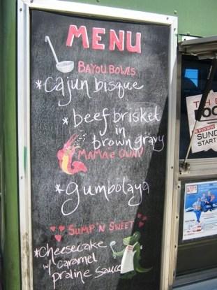 Menu 2 - Food Truck Friday Ragin Cajun South Bay Foodies