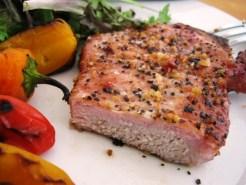 2010-10-09 - Cedar Plank Pork Chops 067