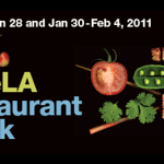 Maps and Stats for LA's Winter 2011 Restaurant Week