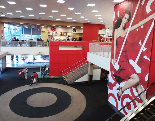 interior of Target Redondo beach