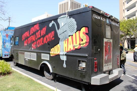 Grindhaus Sausage Truck - Driver's Side, Back