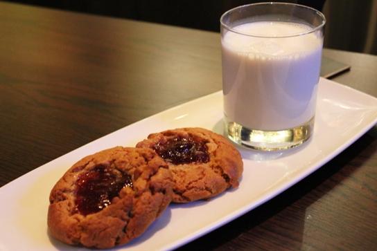 PB&J Cookies and Milk at PS 612