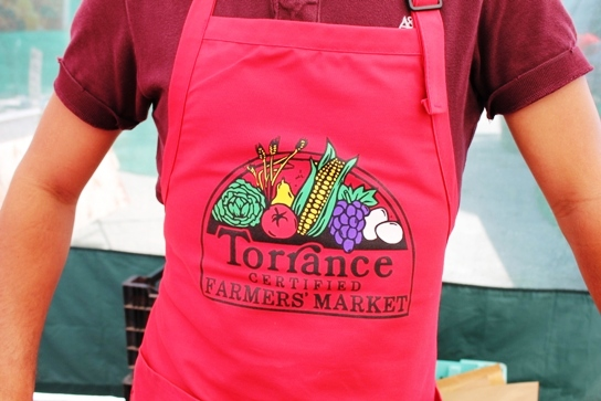 The Official Apron of the Torrance Farmers Market.