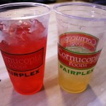 Starwberry Margarita and Spiked Lemonade