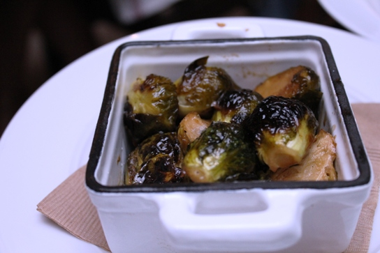 """These sprouts had me at """"roasted in brown butter and maple"""
