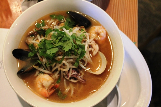 Hawaiian Seafood Soup-