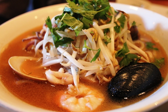 Hawaiian Seafood Soup