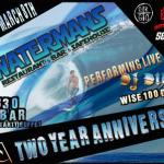 Watermans Celebrates Two Years with Free Buffet and Open Bar, TONIGHT