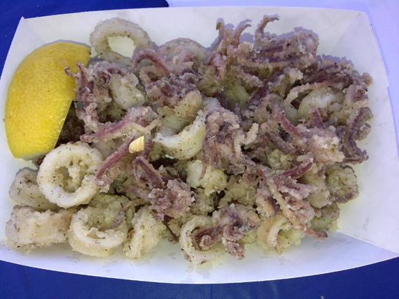 Calamari with Greek seasoning