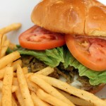 The Fire Burger has more heat in its name than in its bite. Chocked with peppers, its bigger on flavor than it is on fire