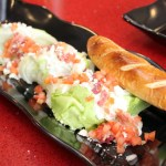 The Wedge Salad with a soft pretzel breadstick ($9.49).