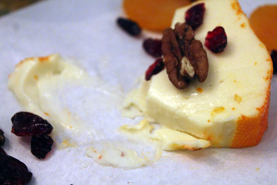 Cheese, fruits, and nuts are great for pairing with wine as an appetizer before dinner.