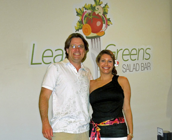 Co-owners Rich and Laura Weber