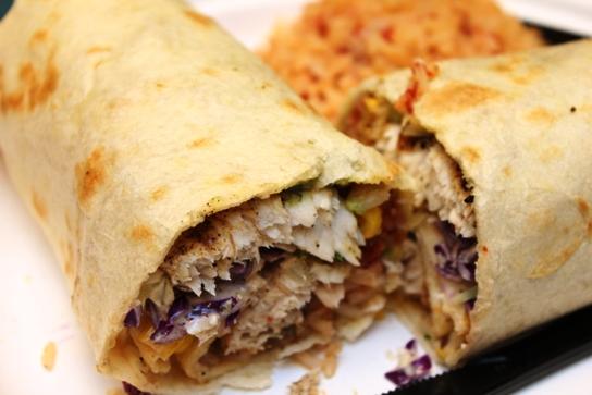 The Pacific Mahi Mahi Burrito.